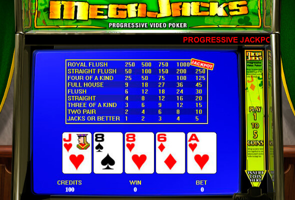 Mega jack video poker / Мега Джек Видео Покер